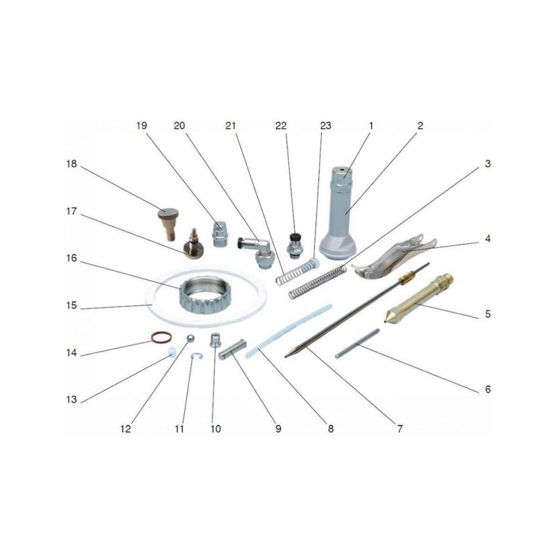 Ersatzteil-Set für UBS-Becherpistole - 2