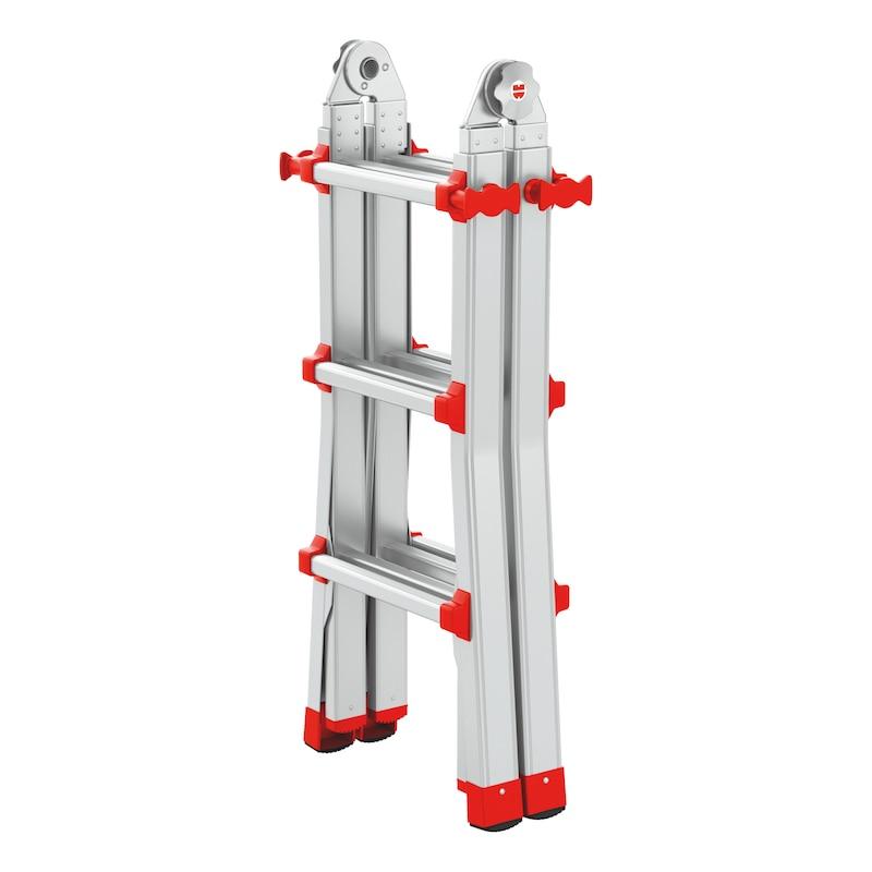 Scala telescopica in alluminio professionale - 1