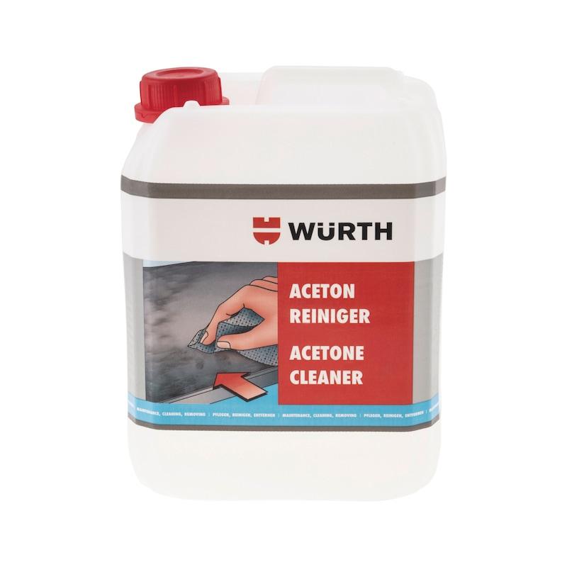 Acetone cleaner - ACETONCLNR-METCLNR-5LTR