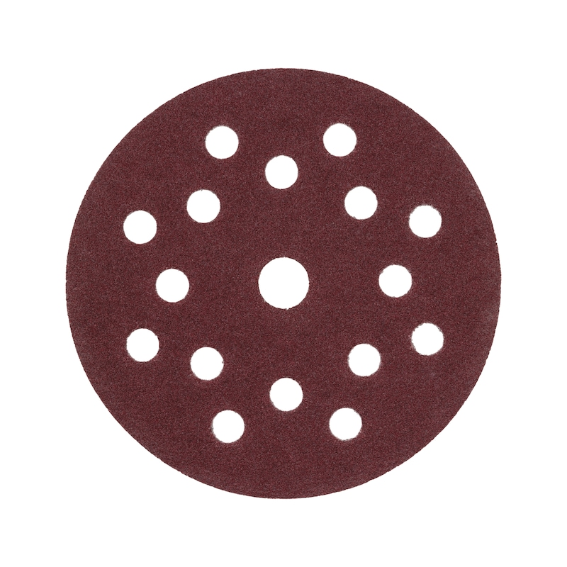 Trockenschleifpapier-Scheibe Holz KP perfect - TSPAP-KLETT-MULTILOCH-P80-D125MM