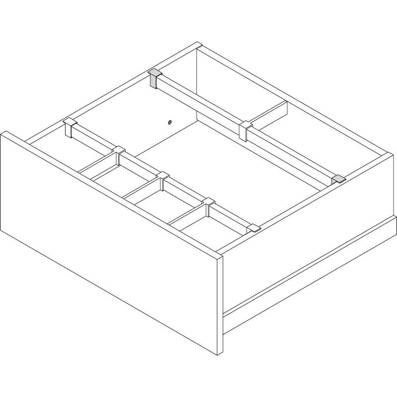 Universalhalter für Querunterteilung Nova PRO Scala - 2