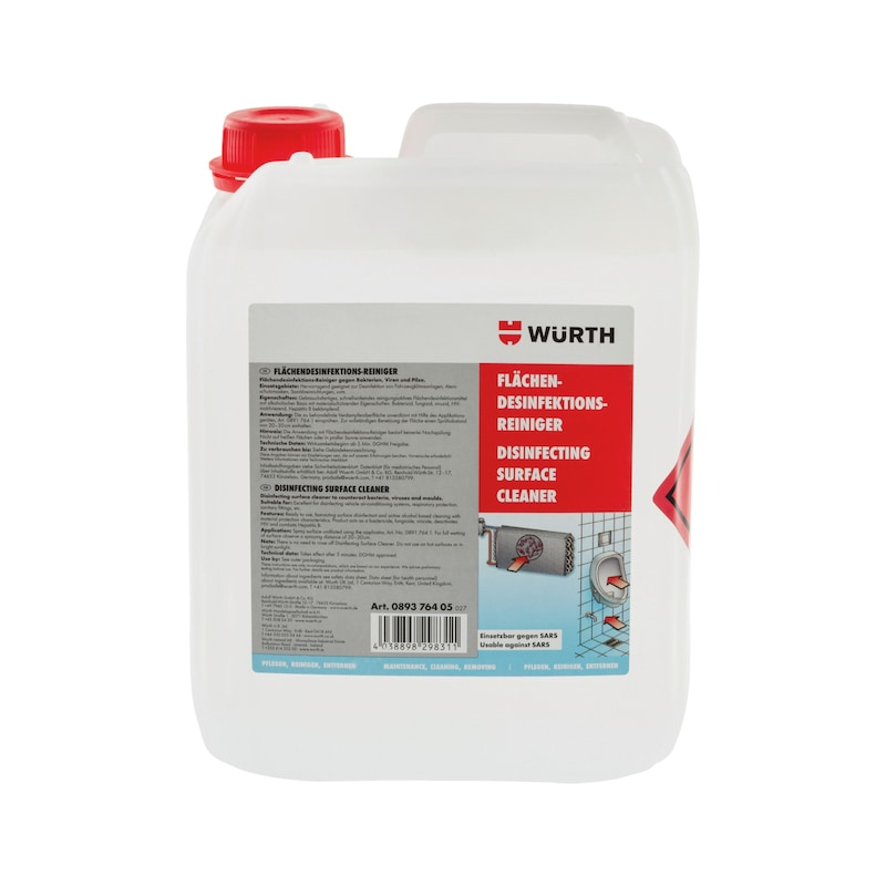 Disinfectant surface cleaner - 1