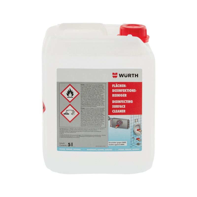 Disinfectant surface cleaner - 2