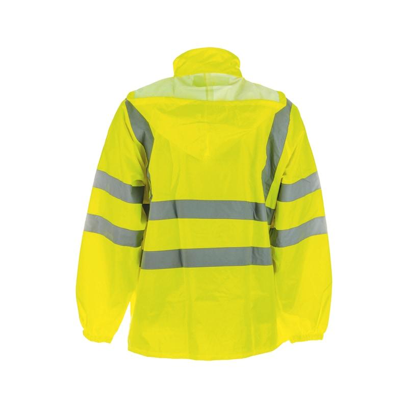 XXL Bekleidung & Schutzausrüstung Funsport Warnschutzregenjacke leuchtgelb Gr