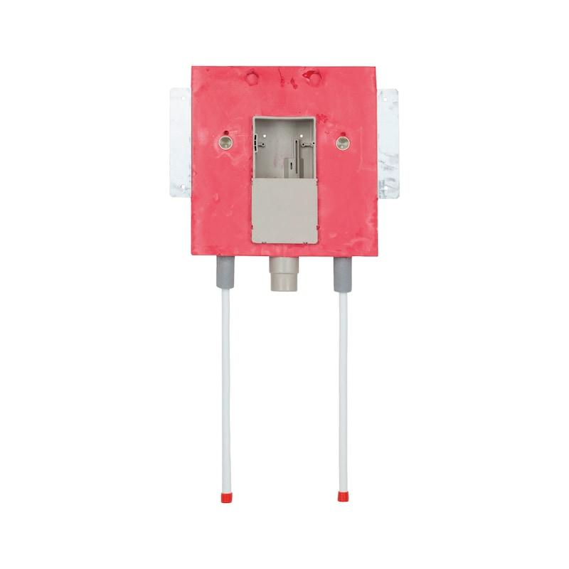 Installationsbox Waschtisch behindertengerecht Trockenbau - IB-WT-TB-2XKW/WW220-DN16-UNT-UP-KAST