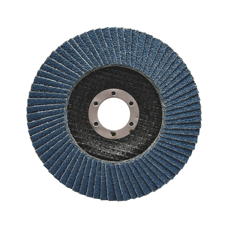 Flap disc for steel and stainless steel Red Line - FLPDISC-NC-CLTH-SR-BR22,23-G60-D115MM