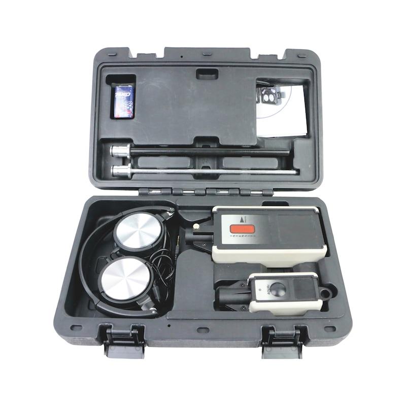 HVAC ultrasonic leak detector 2n1 in plastic case