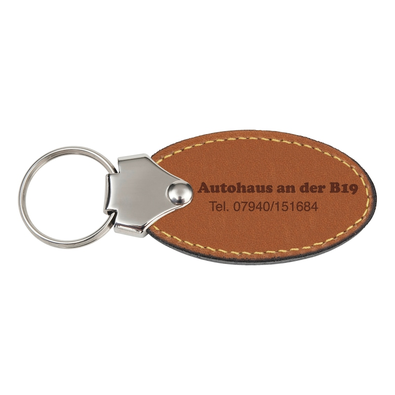 Key fob Oval