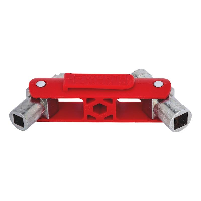 """Schaltschrankschlüssel """"Mini"""" 6 in 1 - 9"""
