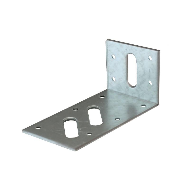 Hoekverbinder Sendzimir verzinkt - HOEKVERB-(SZN)-50X110X60X3-072350