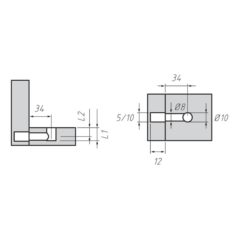 Möbel-Verbinder SM 10 - 3