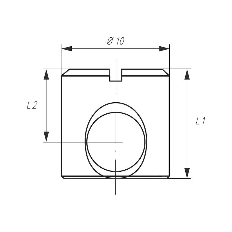 Möbel-Verbinder SM 10 - 5