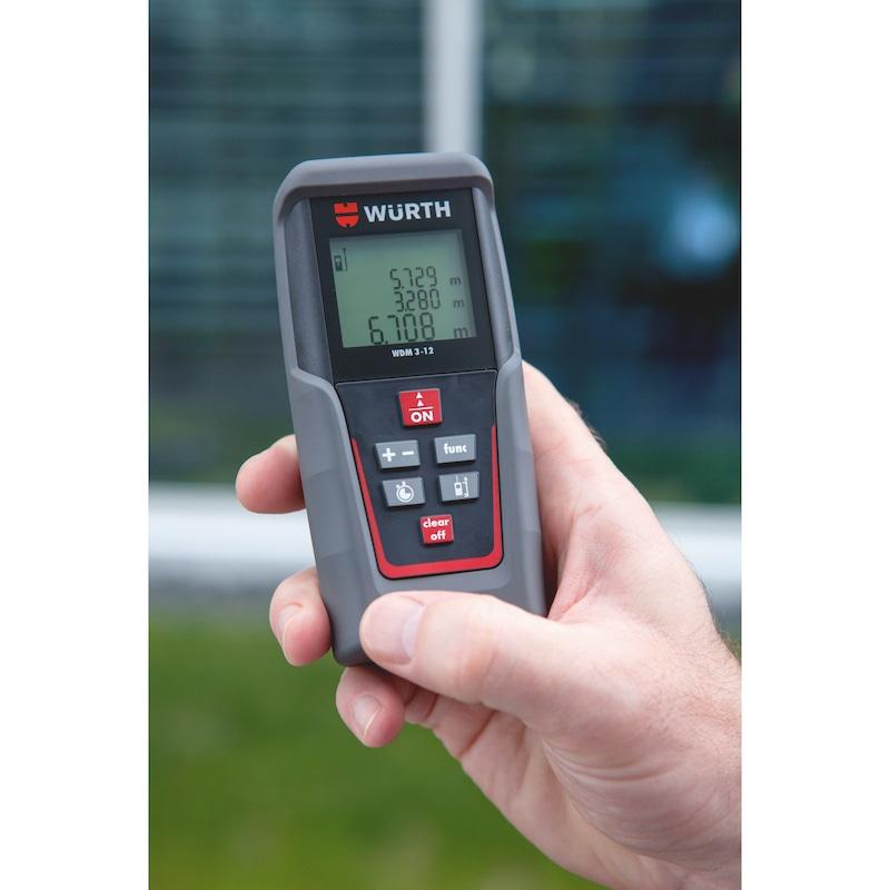 Distanziometro laser WDM 3-12 - MISURATORE-DISTANZE-LASER-WDM3-12