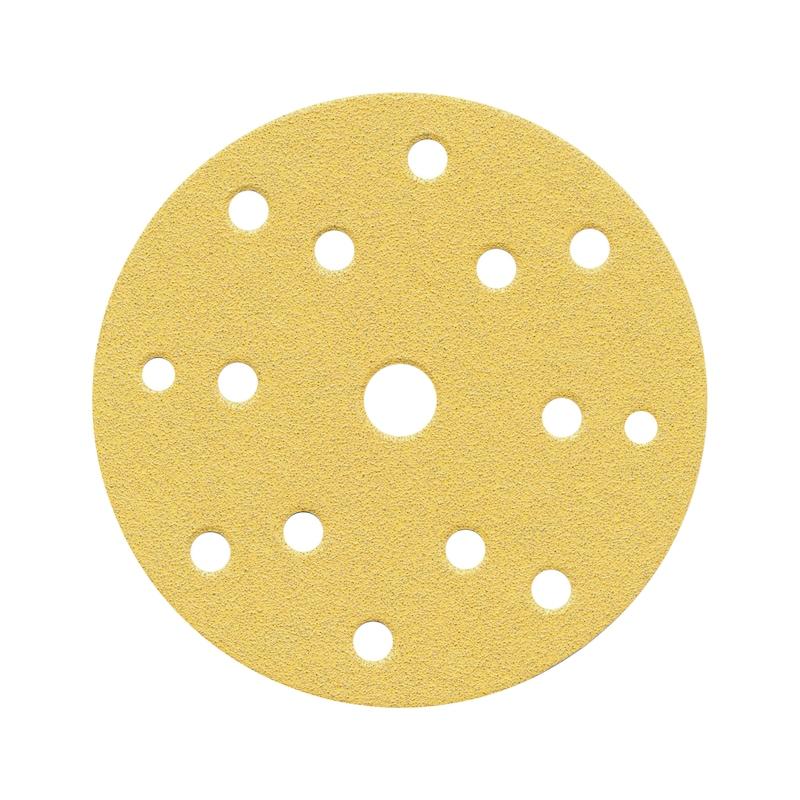 Dry sanding disc 15-hole - DSPAP-HOKLP-15HO-P120-D150MM