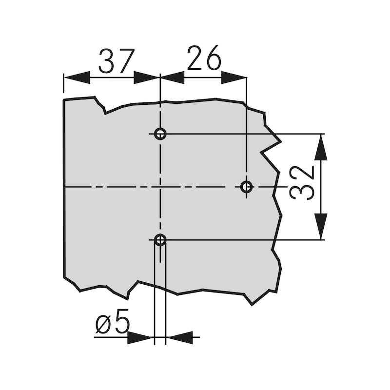 ECO cross-mounting plate Quick - 2
