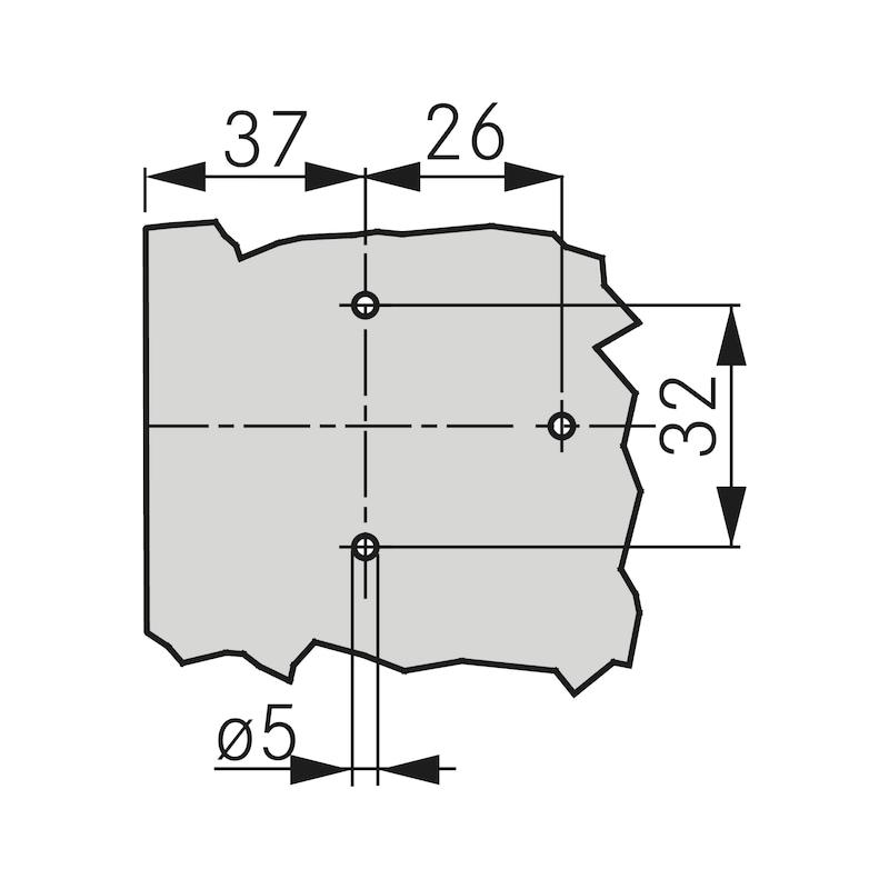 Eco Kreuzmontageplatte Quick - 2