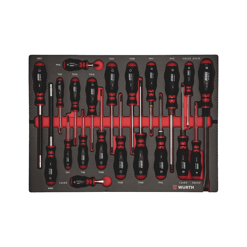 System assortment 8.4.1, screwdriver - SCRDRIV-SET-BMOP-21PCS