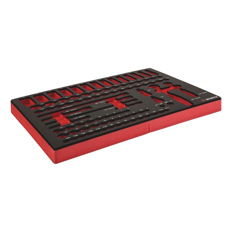 System-Einlage 8.4.1 Steckschlüssel 3/8 + 1/4 Zoll - 3