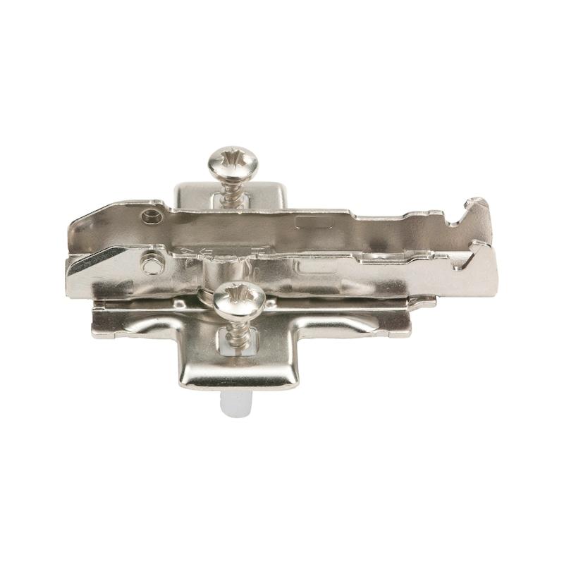 1D-Kreuzmontageplatte Quick - KRZMNTGPL-TIOMOS-QUICK-11MM-ST-H03