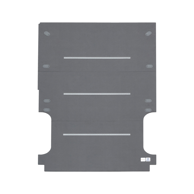 Floor panel with integrated lashing rails - VEHFLR-RL-FORD-CUSTOM-L1-RS2933