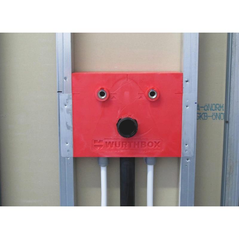 Installationsbox Standardwaschtisch Trockenbau - 7