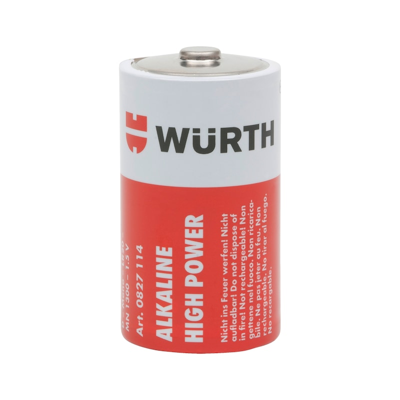 Batterie High Power - BATT-ALKALI-D-MONO-LR20-1,5V