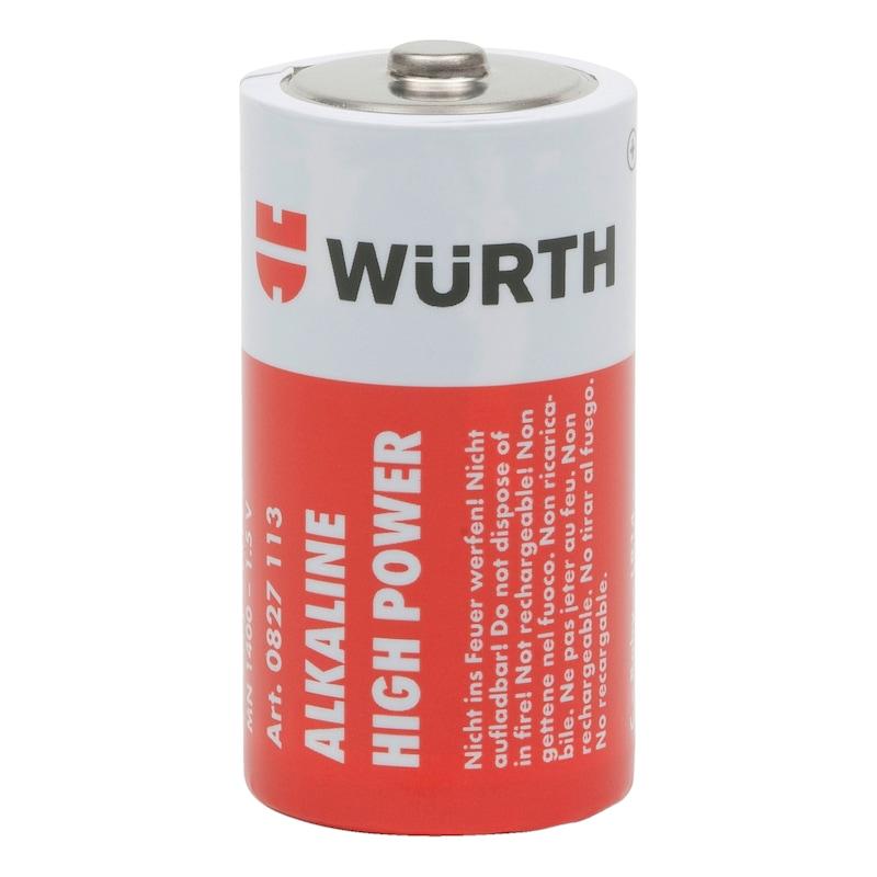 Batterie High Power - BATT-ALKALI-C-BABY-LR14-1,5V