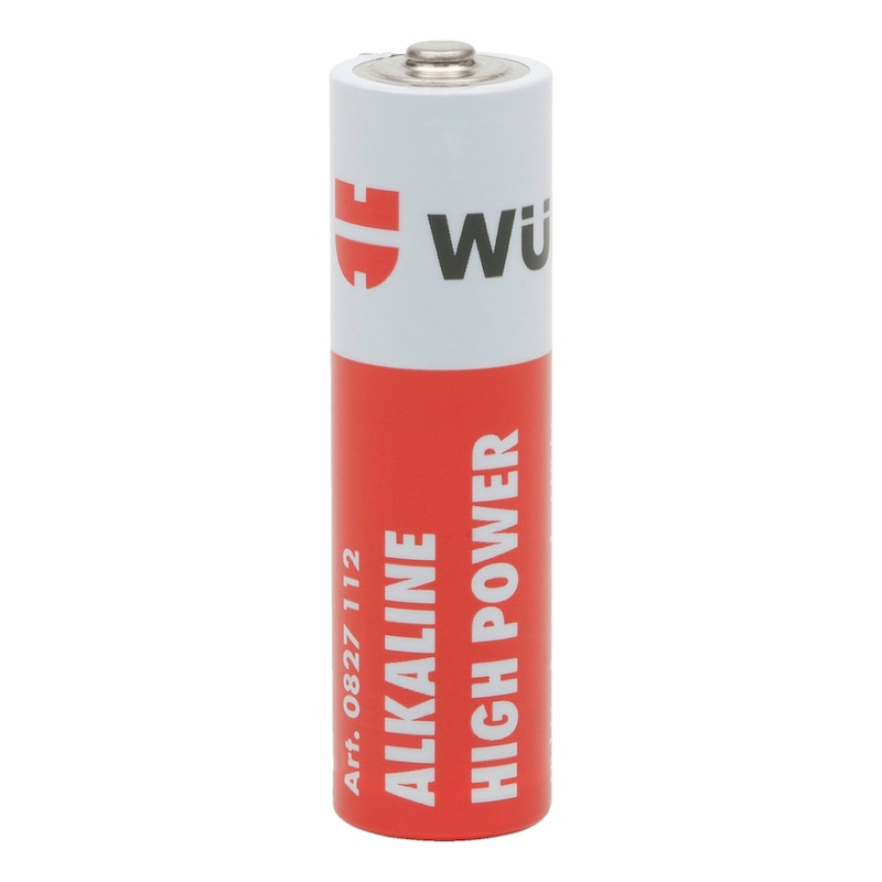 Alkaline batteri High Power - BATTERI ALKA. MIGNON 1,5V / AA