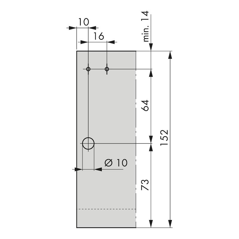 Rechteckreling-Set Nova Pro - 3