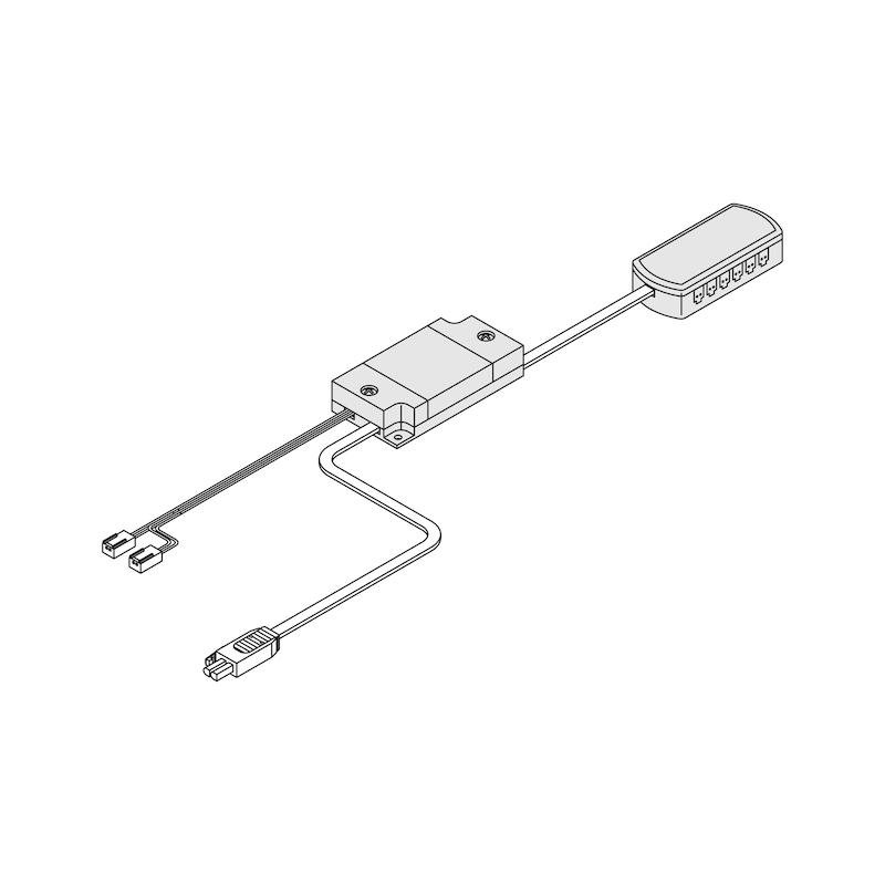 Dimm-Controller - SCHALT-EL-F-DIMMST-24V-1-10V-75W-MIN-AMP