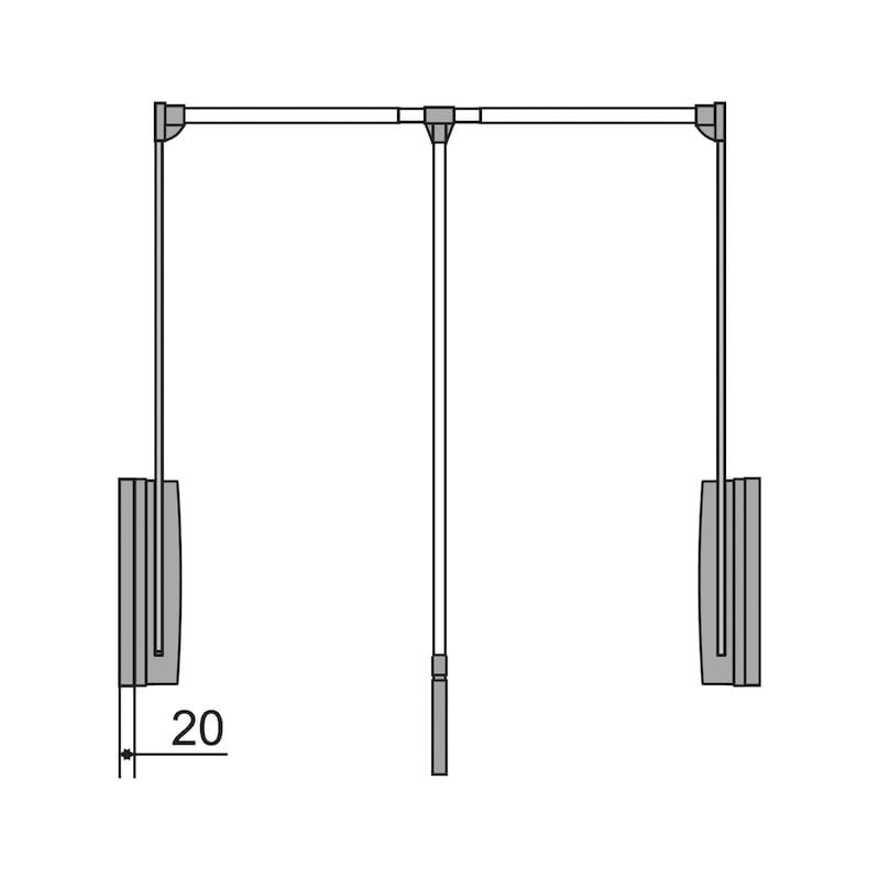 Kleiderlift KL 18 - 6