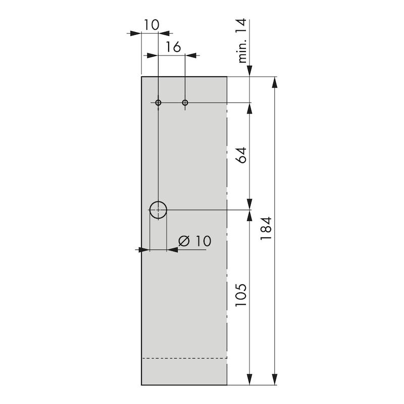 Rechteckreling-Set Nova Pro - 5