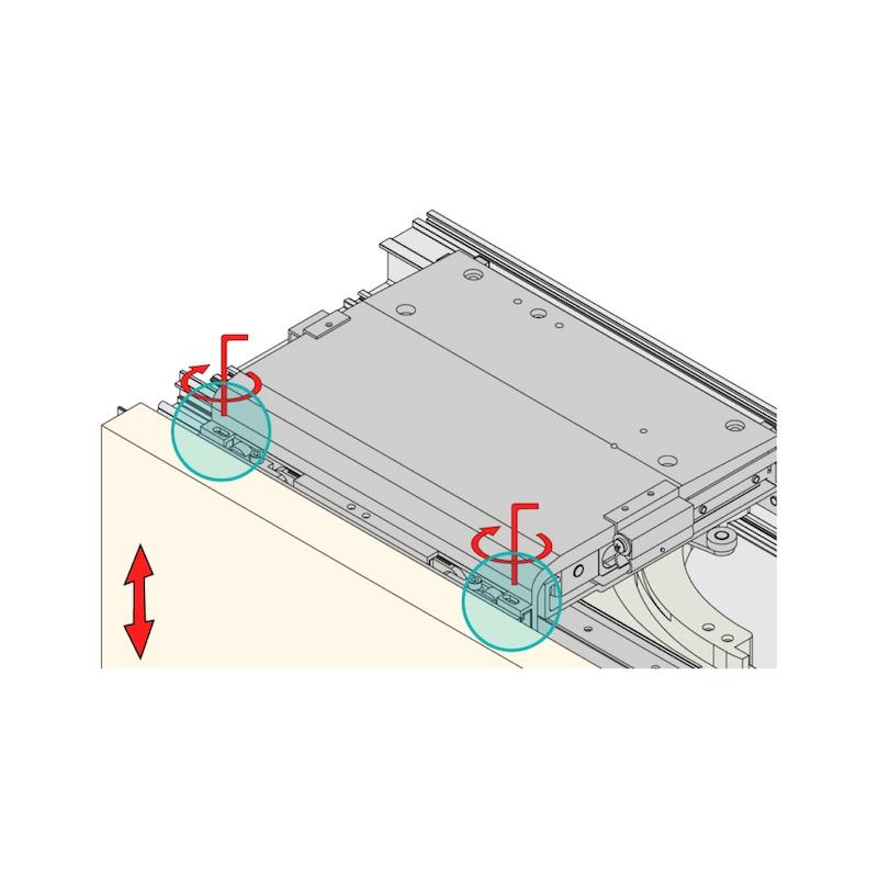 Möbelschiebetürbeschlag  RSB 55/85 FB - 5