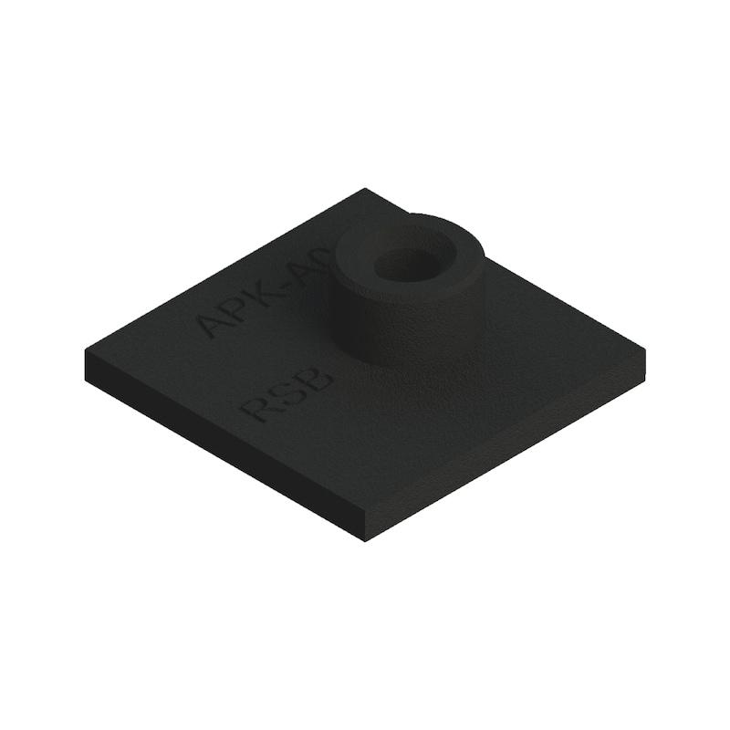 Schweißplatte Premium Teil 1 - kurze Ausführung Typ SP - SHWSPL-DIN3015-1-SP-W2-GR1/0