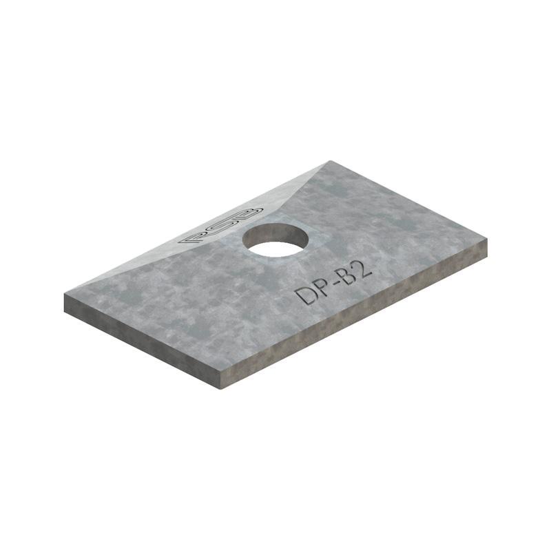 Deckplatte Teil 3 - einfache Ausführung - 1
