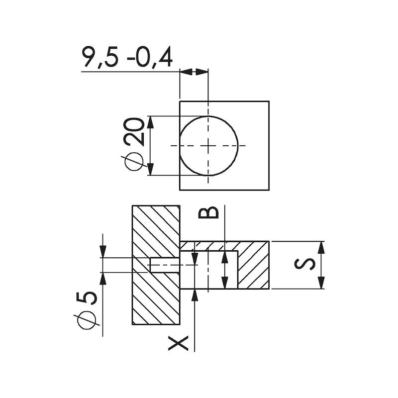 Systemverbinder SV 20 E - 2