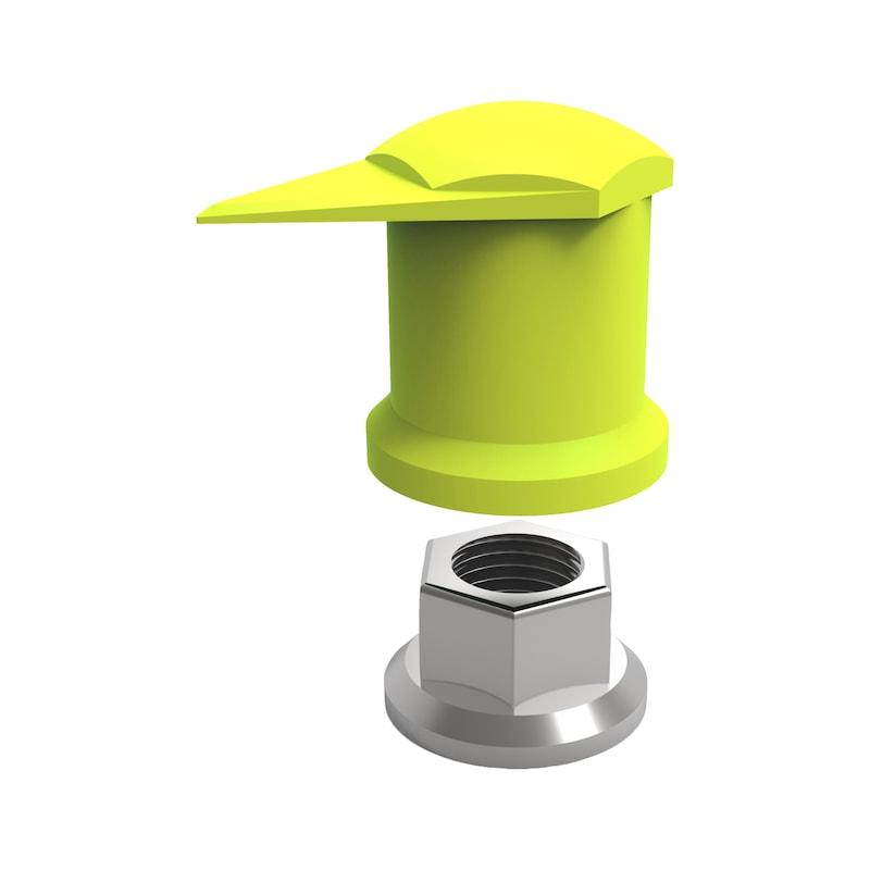 Point de contrôle Dustite LR® Indicateur pour écrou de roue - 2