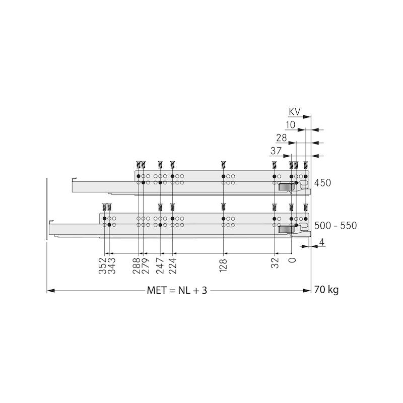 Zargen-Set Vionaro H121 - 10