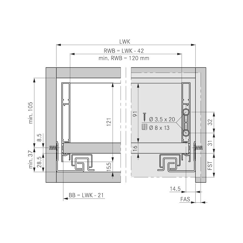 Zargen-Set Vionaro H121 - 2