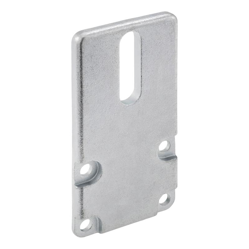 Abschlussplatte Set - ABSHPL-SET-ST-A2K-ANSHLG-80X40MM
