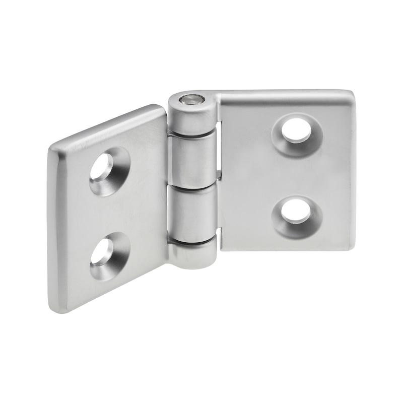 Scharnier Aluminiumdruckguss - 1