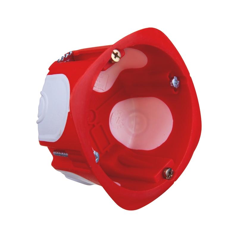 Boîte d'encastrement multimatériaux étanche à l'air V4  - 1