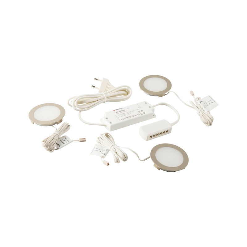 LED-Einbauleuchte EBL-24-9 Set