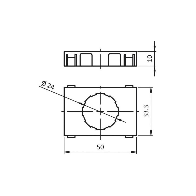 Käfig für Kugel-/Bürsteneinsatz - 2