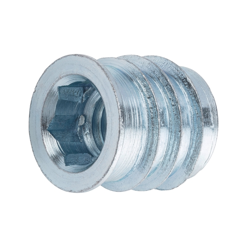 Screw-in sleeve for furniture connectors - 1