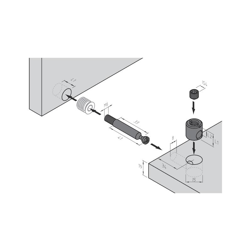 Möbel-Verbinder SE 15 - 4
