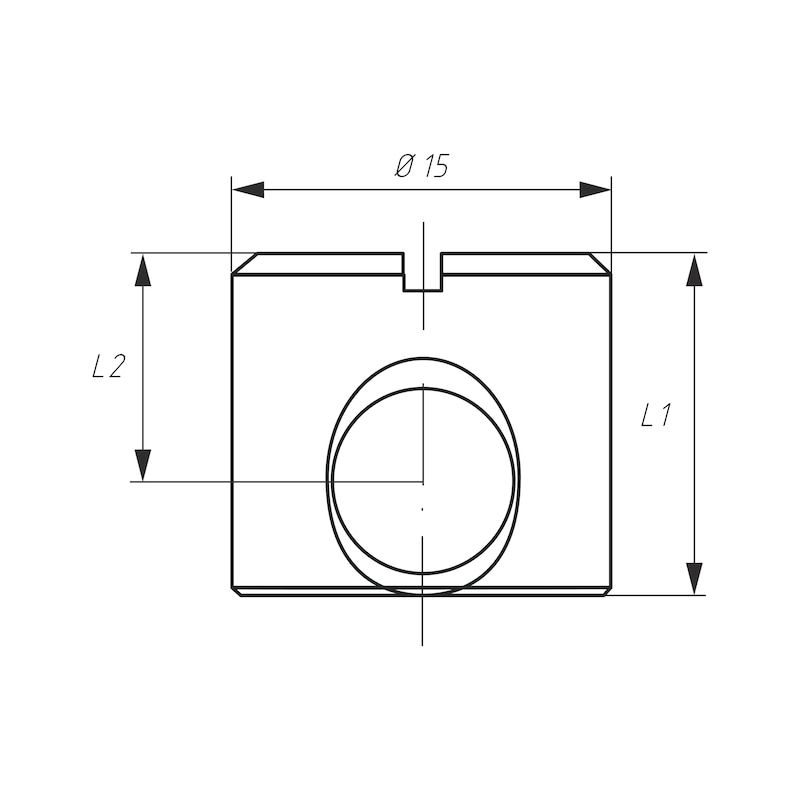 Möbel-Verbinder SL 15 - 5