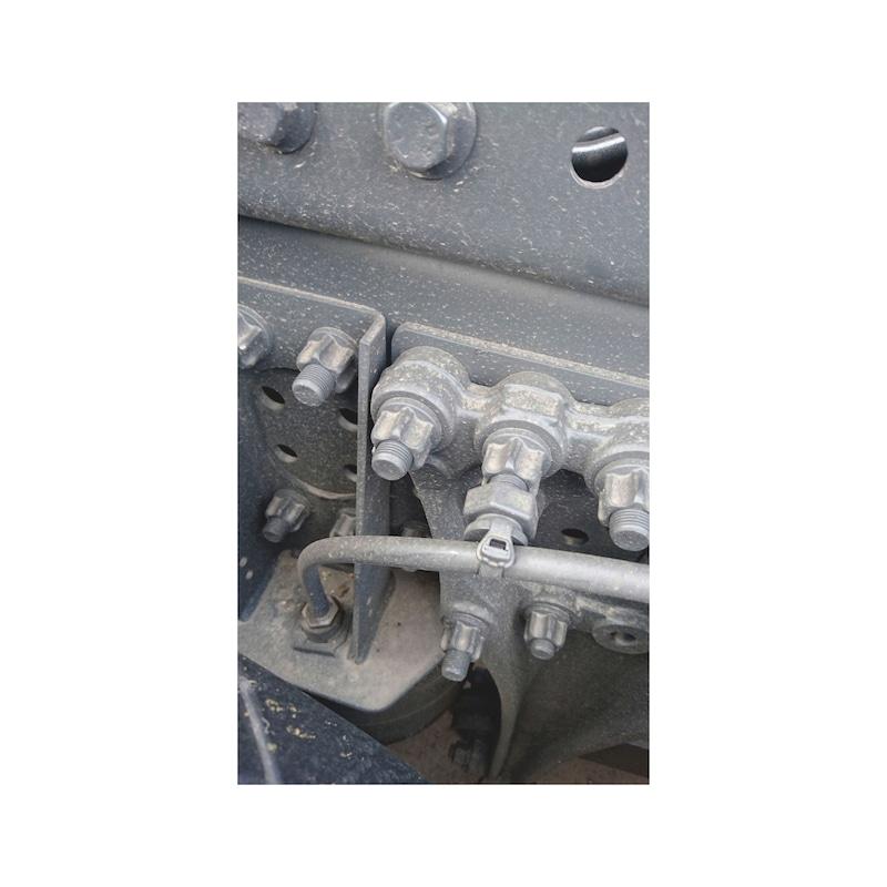 3/4 Zoll Kraftsteckschlüssel MB Leichtbaumutter - 2
