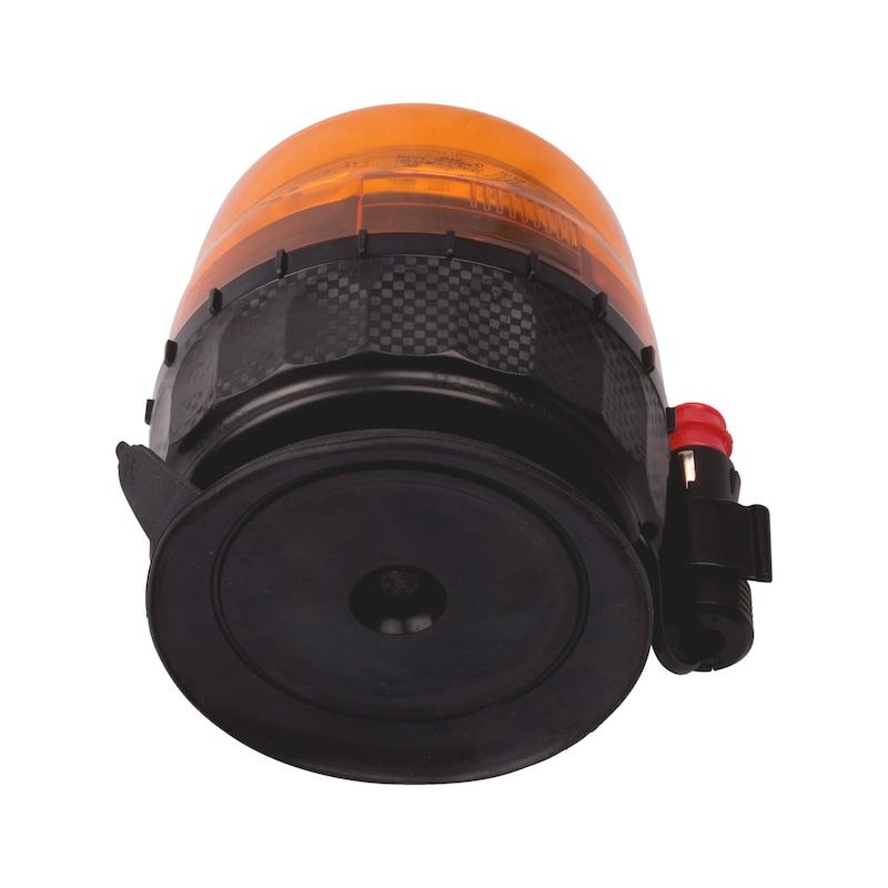 Gyrophare LED Fixation magnétique et ventouse - 2