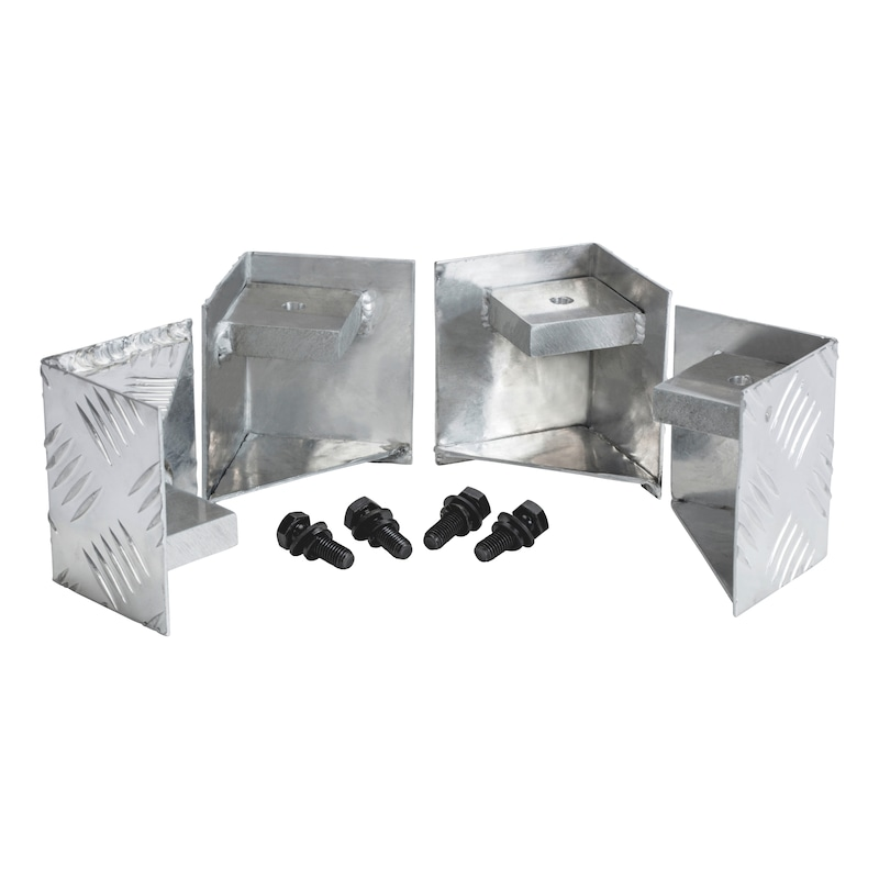 Palettenfuß für Riffelblechbox - 1